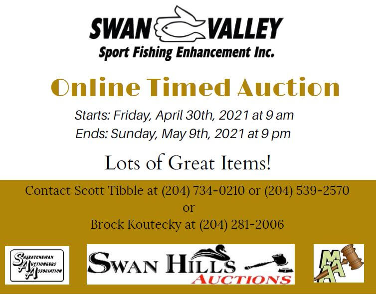 SVSFE's Online Virtual Auction – April 30th to May 9th